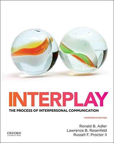 9780199390489: Interplay: The Process of Interpersonal Communication