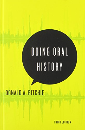 9780199395194: Doing Oral History (Oxford Oral History Series)