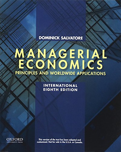 9780199397150: Managerial Economics in a Global Economy