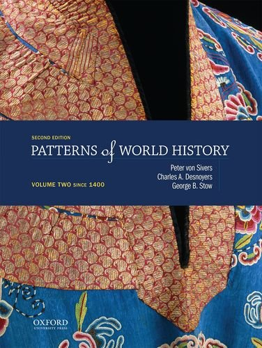 PATTERNS OF WORLD HISTORYVOL.2: VONSIVERS