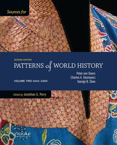 9780199399734: Sources for Patterns of World History: Volume Two Since 1400
