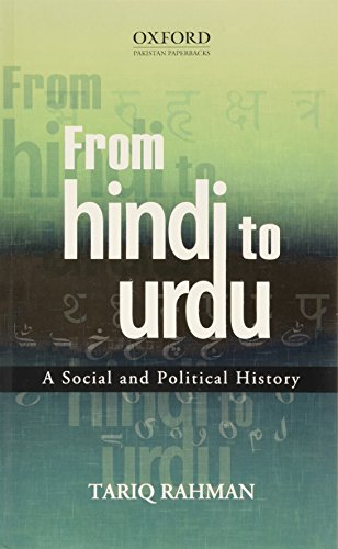9780199403424: From Hindi to Urdu: A Social and Political History