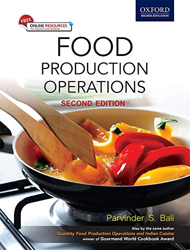 FOOD PRODUCTION OPERATIONS 2E (WITH DVD)