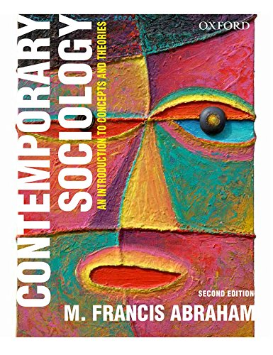 9780199452781: Contemporary Sociology: An Introduction to Concepts and Theories