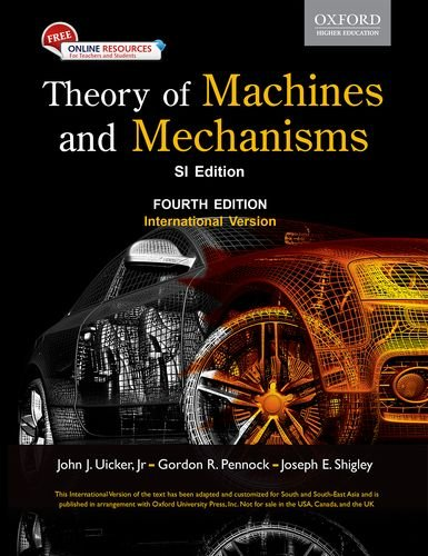 9780199454167: Theory of Machines and Mechanisms, 4th ed.