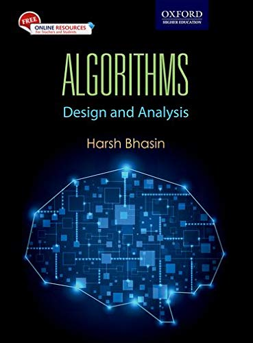 9780199456666: Algorithms: Design and Analysis
