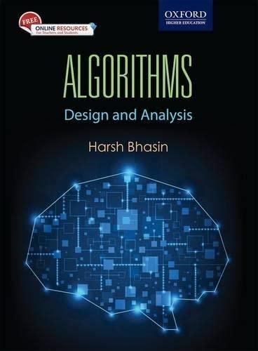 9780199456666: Algorithms: Design and Analysis