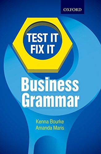 TEST IT BUSINESS GRAMMAR: KENNA BOURKE, AMANDA