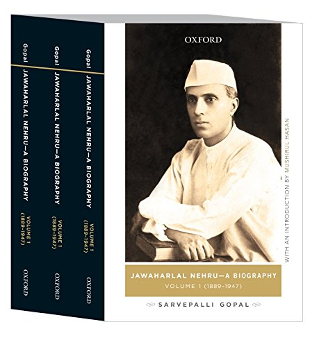 9780199457458: Jawaharlal Nehru: A Biography (3-Vol Box Set) PB