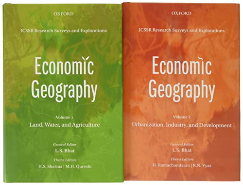 9780199458820: ICSSR Research Surveys and Explorations: Economic Geography, Volumes 1 & 2