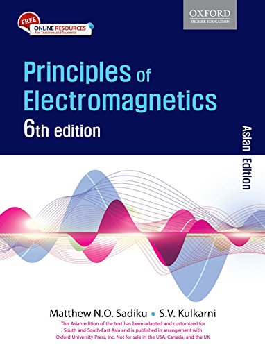 9780199461851: Principles Of Electromagnetics, 6/E