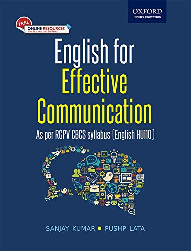 English for Effective Communication: For B.E. and: Pushp Lata,Sanjay Kumar