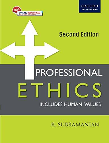 9780199475070: PROFESSIONAL ETHICS, 2E