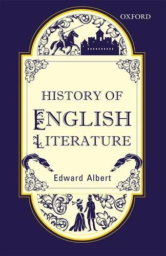 9780199479313: HISTORY OF ENGLISH LITERATURE (REV ED)