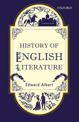 9780199479313: History Of English Literature, Fifth Edition