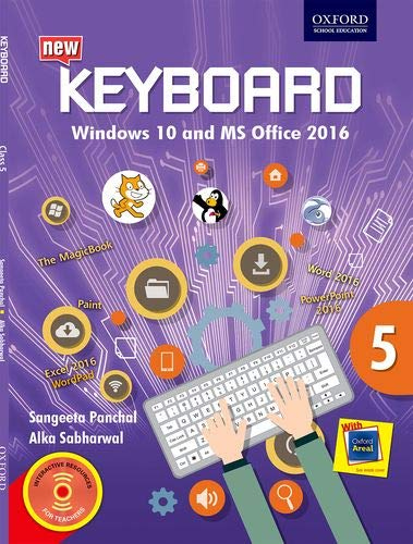 KEYBOARD WINDOWS 10-OFFICE 2016 BOOK 5 by ALKA SABHARWAL AND