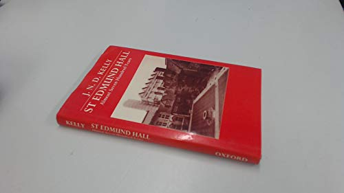 9780199515592: St. Edmund Hall: Almost Seven Hundred Years