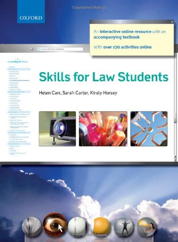 9780199532193: Skills for Law Students (Online)