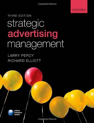 9780199532575: Strategic Advertising Management