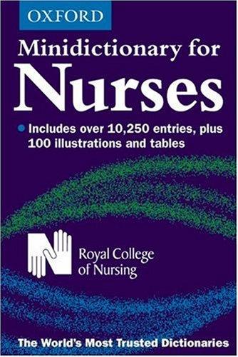 Minidictionary for Nurses 5th