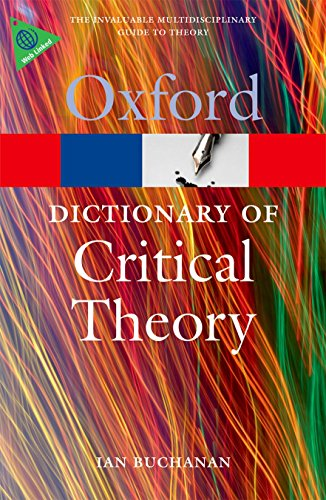 9780199532919: A Dictionary of Critical Theory (Oxford Quick Reference)