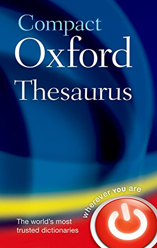 9780199532957: Compact Oxford Thesaurus: Third edition revised