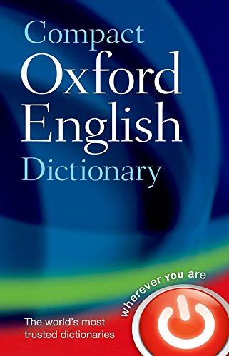9780199532964: Oxford English Compact Dictionary of Current English (Diccionario Oxford Compact)