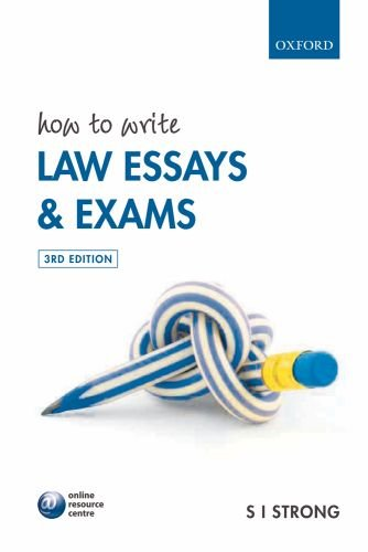 9780199533572: How to Write Law Essays & Exams