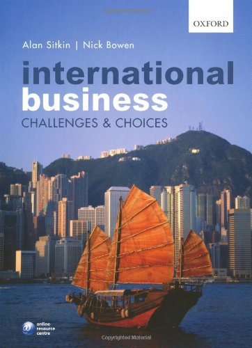 9780199533916: International Business: Challenges and Choices