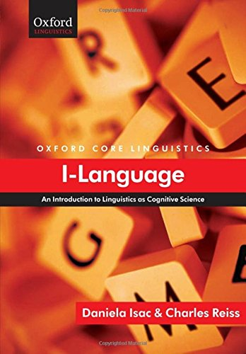 9780199534203: I-Language: An Introduction to Linguistics as Cognitive Science