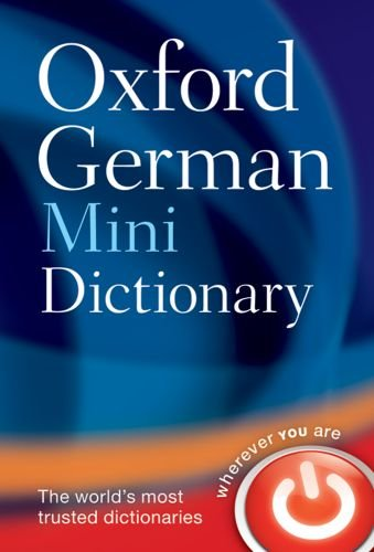 9780199534371: Oxford German Mini Dictionary