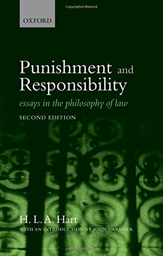 9780199534777: Punishment and Responsibility: Essays in the Philosophy of Law