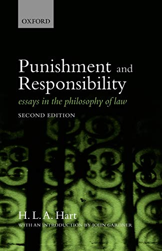 9780199534784: Punishment and Responsibility: Essays in the Philosophy of Law