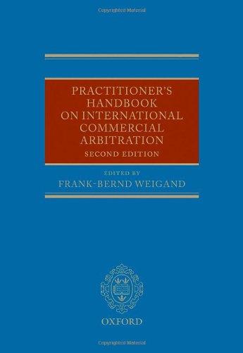 9780199534869: Practitioner's Handbook on International Commercial Arbitration