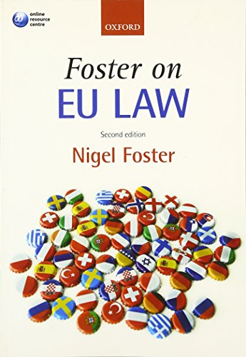 9780199534890: Foster on EU Law