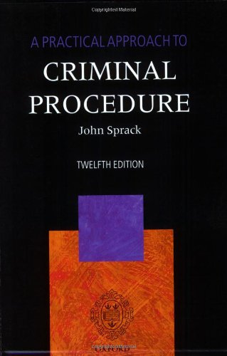 9780199535392: A Practical Approach to Criminal Procedure