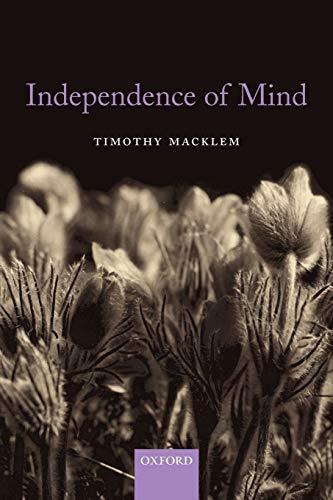 Independence of mind.: Macklem, Timothy.