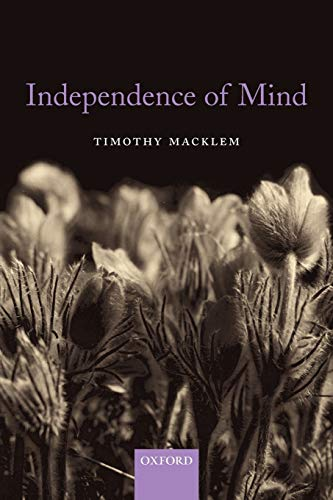 9780199535446: Independence of Mind