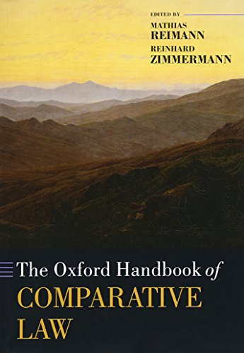 9780199535453: The Oxford Handbook of Comparative Law (Oxford Handbooks)