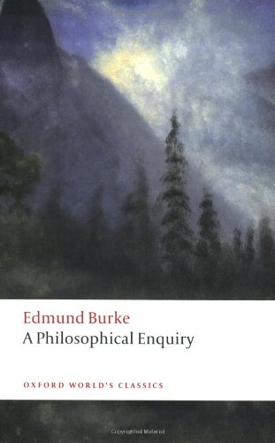 9780199537884: A Philosophical Enquiry into the Origin of Our Ideas of the Sublime and Beautiful (Oxford World's Classics)