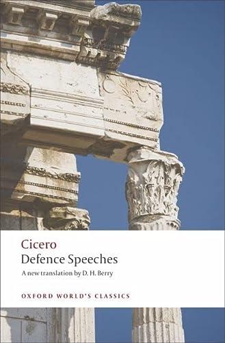 9780199537907: Defence Speeches (Oxford World's Classics)