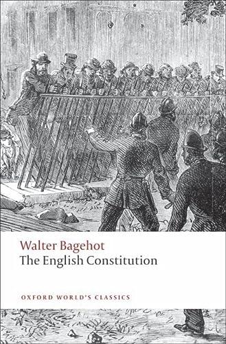 9780199539017: The English Constitution (Oxford World's Classics)