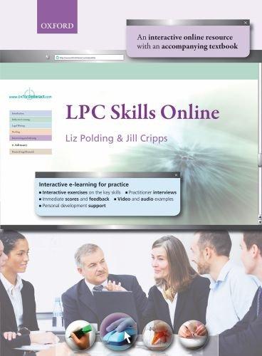 9780199539369: LPC Skills Online (Blackstone Legal Practice Course Guide)