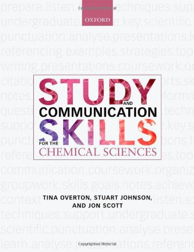 9780199539680: Study & Communication Skills for the Chemical Sciences