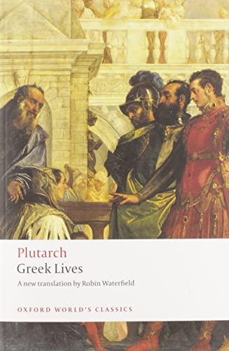 9780199540051: Greek Lives (Oxford World's Classics)