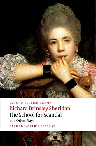 9780199540099: The School for Scandal and Other Plays