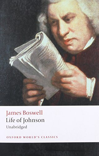 9780199540211: Life of Johnson (Oxford World's Classics)