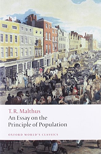 9780199540457: An Essay on the Principle of Population (Oxford World's Classics)