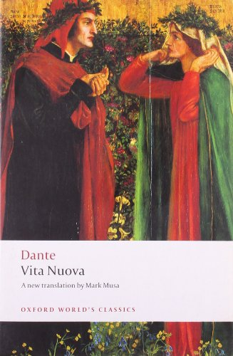 9780199540655: Vita Nuova (Oxford World's Classics)