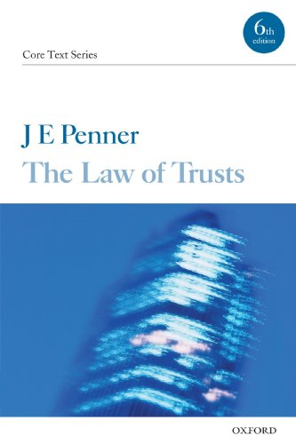 9780199540921: The Law of Trusts (Core Texts Series)